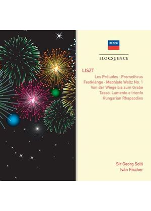 Liszt: Tone Poems; Hungarian Rhapsodies (Music CD)