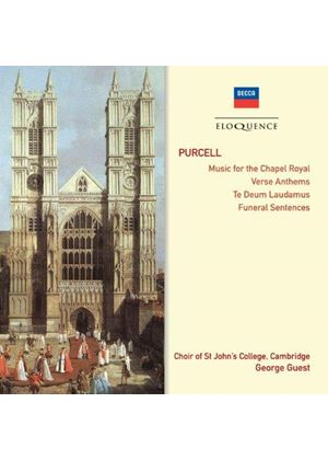 Purcell: Music for the Chapel Royal; Verse Anthems; Te Deus Laudamus; Funeral Services (Music CD)