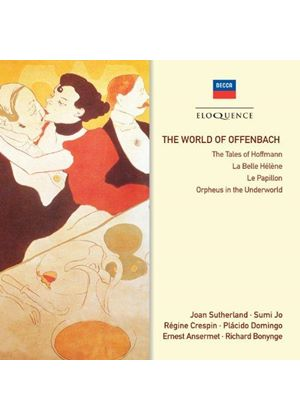 World of Offenbach (Music CD)