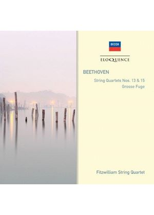 Beethoven: String Quartets Nos. 13 & 15; Grosse Fuge (Music CD)
