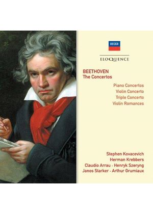 Beethoven: Complete Concertos (Music CD)