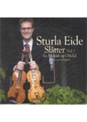 Sturla Eide - Slatter Vol.1 (Norwegian Fiddle) (Music CD)
