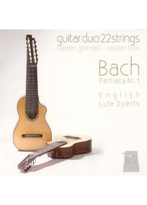 Bach: Partita No. 1; English Lute Suites and Duets (Music CD)