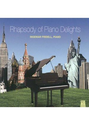 Rhapsody of Piano Delights (Music CD)