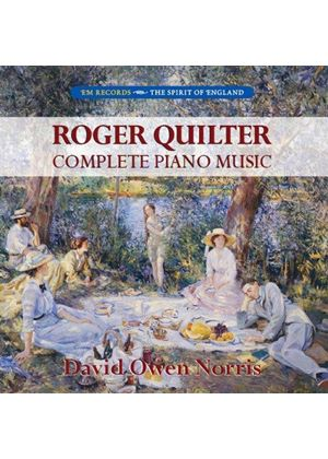 Roger Quilter: Complete Piano Music (Music CD)