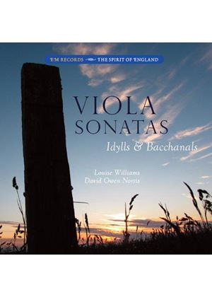Viola Sonatas, Idylls & Bacchanals (Music CD)