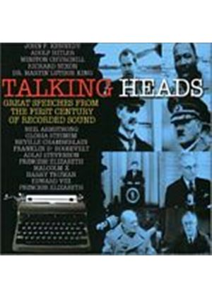 Various Artists - Talking Heads - Great Speeches From The (Music CD)