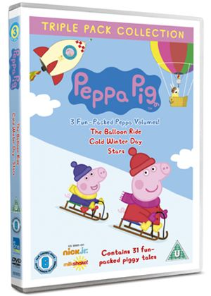 Peppa Pig - Balloon Ride / Cold Winter Day / Stars