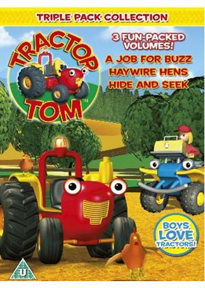 Tractor Tom: A Job for Buzz / Haywire Hens / Hide and Seek