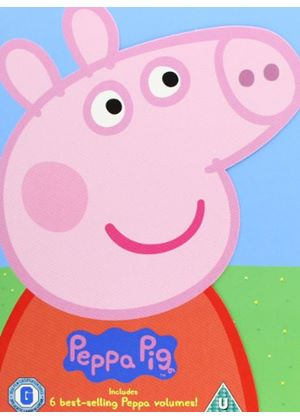 Peppa Pig: 6 Best-selling Peppa Volumes