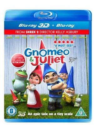 Gnomeo & Juliet (Blu-ray 3D)