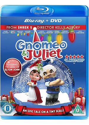 Gnomeo And Juliet - Festive Sleeve (Blu-Ray and DVD)