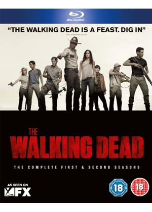 The Walking Dead - Seasons 1 and 2 (Blu-Ray)