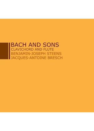 Bach and Sons: Clavichord and Flute (Music CD)