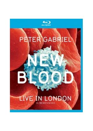 Peter Gabriel New Blood Live In London In 3 Dimensions (Blu-ray 3D)