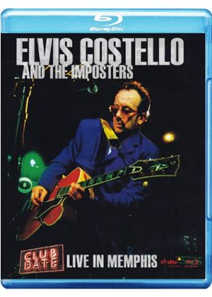 Elvis Costello - Club Date: Live In Memphis [Blu-Ray]