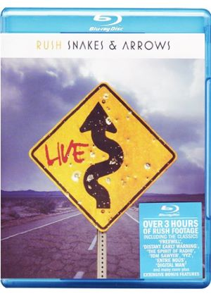Rush - Snakes And Arrows (Blu-Ray)