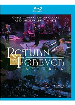 Return To Forever - Returns - Live At Montreux 2008 (Blu-Ray)
