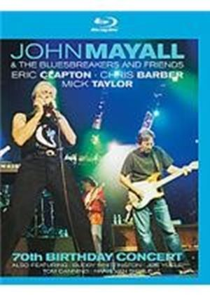 John Mayall And The Bluesbreakers And Friends - 70Th Birthday Concert (Blu-Ray)