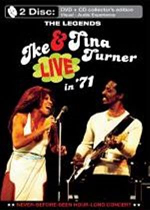 Ike And Tina Turner - The Legends Live In 71 (DVD And CD)