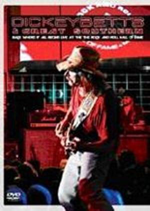Dickey Betts And Great Southern - Back Where It All Begins (DVD And CD)
