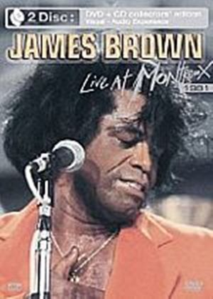 James Brown - Live At Montreux 1981 (DVD and CD Set)