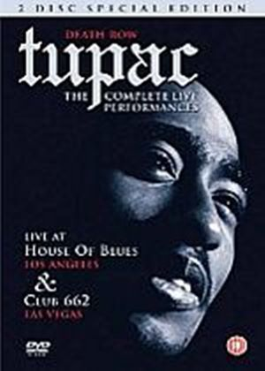 Tupac Shakur - Tupac - The Complete Live Performances
