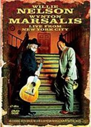Willie Nelson/ Wynton Marsalis: Live From New York City (Music DVD)