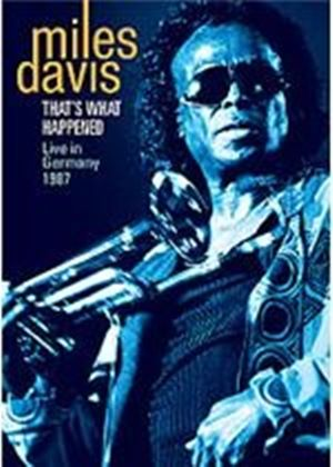 Miles Davis - That's What Happened - Live In Germany 1987