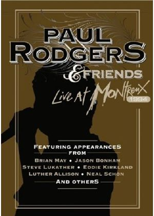 Paul Rodgers - Live at Montreux 1994 [DVD] (+DVD) [DVD Audio]