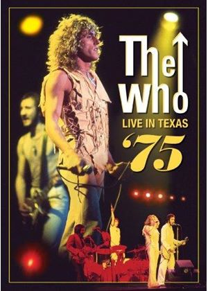 Who (The) - Live in Texas 1975 (Live Recording) [DVD Audio] (Music CD)
