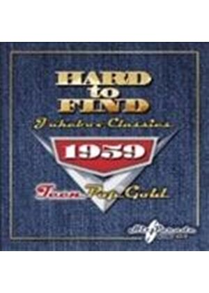 Various Artists - Hard To Find Jukebox Classics 1959 - Teen Pop Gold (Music CD)