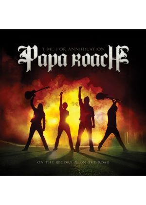 Papa Roach - Time For Annihilation... On The Record And On The Road (Music CD)