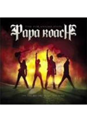 Papa Roach - Time For Annihilation... On The Record And On The Road (+DVD)