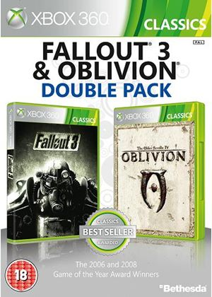 Fallout 3 & The Elder Scrolls IV: Oblivion - Double Pack (Xbox 360)