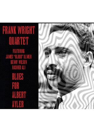 Frank Wright - Blues For Albert Ayler (Live Recording) (Music CD)