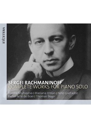 Sergey Rachmaninoff: Piano Works Solo (Music CD)