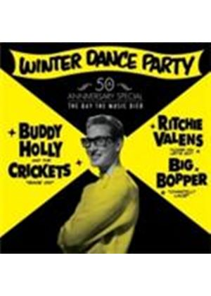 Buddy Holly & The Crickets/Ritchie Vales/The Big Bopper - Winter Dance Party (Music CD)