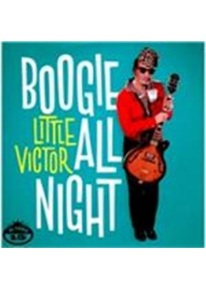 Little Victor - Boogie All Night (Music CD)
