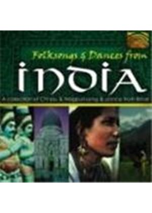 Various Artists - India - Folksongs And Dances From India (A Collection Of Chhau & Nagpuri Song & Dance From Bihar)