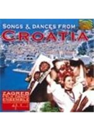 Zagreb Folk Dance Ensemble - Songs And Dances From Croatia