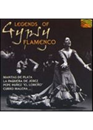 Various Artists - Legends Of Gypsy Flamenco (Music CD)