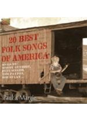 Paul & Margie - 20 Best Folk Songs Of America (Music CD)