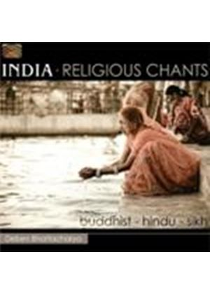 Various Artists - India - Religious Chants (Buddhist - Hindu - Sikh) (Music CD)