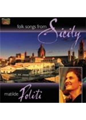 Matilde Politi - Folk Songs From Sicily (Music CD)