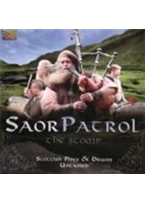 Saor Patrol - Stomp, The (Scottish Pipes And Drums Untamed) (Music CD)