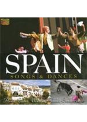 Various Artists - Spain - Songs And Dances (Music CD)