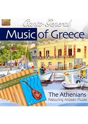 Athenians (The) - The Music Of Greece - Canto General (Music CD)