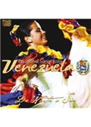 De Norte a Sur - Traditional Songs from Venezuela (Music CD)