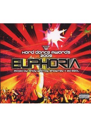 Various Artists - Euphoria - Hard Dance Awards 2009 (Mixed By Andy Whitby, Showtek and Ed Real/Parental Advisory) [PA] (Music CD)